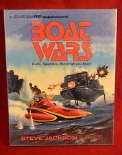Boat Wars Boats, Aquabikes, Hovercraft and More 2nd Ed BOX SET SEALED Car Wars
