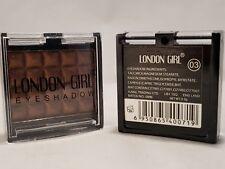 London Girl Single Colour Eye Shadow Chrome Silver