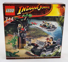 Lego® Indiana Jones 7625 Verfolgungsjagd am Fluss Neuware / New / Sealed