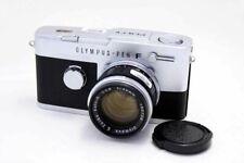 Olympus Pen-Fv 35mm SLR Cámara con Película Plata 40/1.4 Lente Excelente F / S