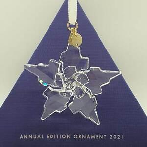 Swarovski Weihnachtsstern 2021 groß OVP Christmas Ornament Stelle 5557796