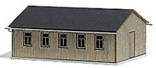 HO 1:87 Busch 1544 Wood BARRACKS / WAREHOUSE / Building KIT (use with Minitanks)