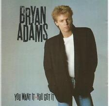 Bryan Adams - You Want It You Got It CD album