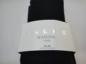 German FALKE Strigging Cable Tights,  Angora Blend, Womens' Pick Color and Size