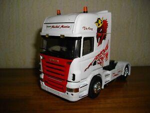 Camion  SCANIA  R 500 (solo),  LBS, ELIGOR, LOUIS SURBER, 1/43