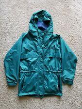 Vintage Helly Hansen Green Packable Windbreaker Jacket Size M