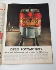 Life Magazine May 1947 Diesel locomotives, Ice Cream Budweiser India Lots of Ads