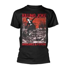 Killing Joke - Wardance & Pssyche OFFICIAL T Shirt (Black) *2018 design