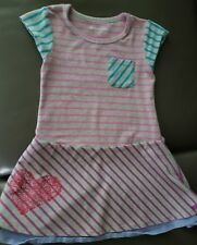 EUC American Girl sz 6 STRIPED multi tiered skirt dress dress like your doll