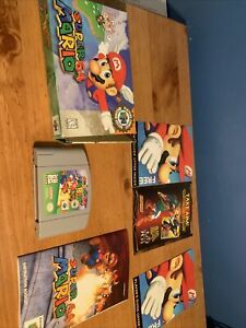 Nintendo Super Mario 64 Players Choice N64 Video Game, Box & Manual Works Tested