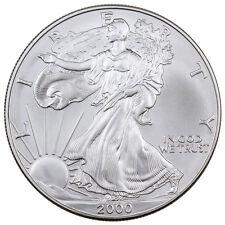 2000 $1 1 Troy Oz .999 Fine Silver American Eagle Coin SKU26691