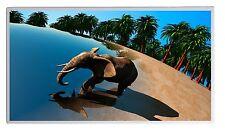 600W Fern Infrarotheizung Elefant Bild Elektroheizung Überhitzungsschutz TÜV
