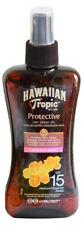 Genuine Hawaiian Tropic Protective Dry Spray Sun Oil SPF 15 [ 1 x 200ml ]