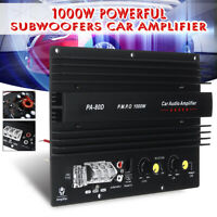 12V 1000W Mono Car Audio High Power Amplifier Powerful Bass Board Subwoofers Amp