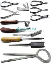 Veterinary Horse Hoof Knife Tester Forceps Rasp Premium Instruments Set of 10