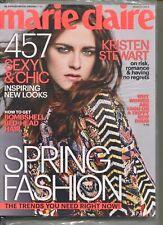 KRISTEN STEWART ~~ Marie Claire Magazine ~~ March 2014 ~~ F-2-3 ~~ SEALED ~~ NEW