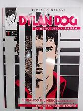 """DYLAN DOG """"Il nero della paura"""" TIZIANO SCLAVI numero 1"""