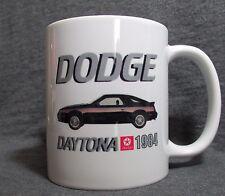 1984 Dodge Daytona Turbo Z Coffee Cup, Mug - New - Classic 80's - Custom Design