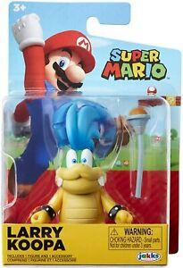 Larry Koopa with Wand World of Nintendo Super Mario Character Action Figure