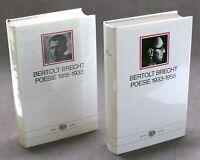 Bertolt Brecht - Poesie 1918-1933 / 1933-1956 - ed. 1973 / 1977 Einaudi