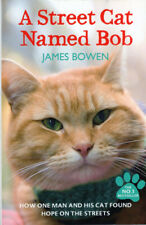 A Street Cat Named Bob Paperback Book True Story Cats Animals Pre-Owned