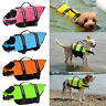 Pet Life Jacket Puppy Dog Swim Safety Vest Oxford Reflective Stripe Summer