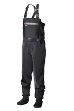 SCIERRA X-STRETCH STOCKING FOOT CHEST WADERS SIZE L FLY FISHING PIKE SPEY SALMON
