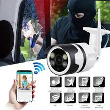UK 1080P Wireless WIFI IP Camera Outdoor CCTV HD PTZ Smart Security IR Cam Home