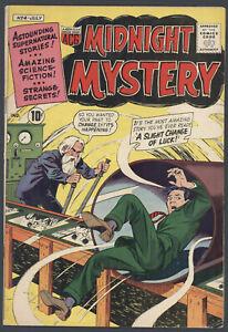 Midnight Mystery #4 Very Good / Fine Sci-Fi ACG American Comics Group 1961 SA