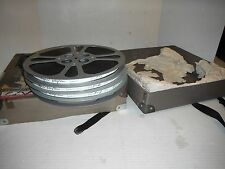 "Vintage 16mm "" The Rivals "" Reel to Reel Color Movie w/Sound (4 reels) + Case"