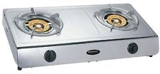 Wok Double 2 Burner Cooker Stove Natural Gas 13.5 MJ Portable Benchtop