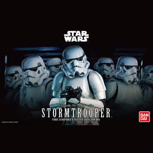 "Stormtrooper ""Star Wars"" Character Line 1/12 Model Kit Bandai Hobby"