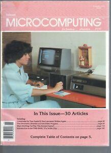 Kilobaud Computer Hobbyist Magazine Issue 35 November 1979 Rare Error