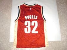 Cleveland Cavaliers LARRY HUGHES Reebok Basketball Jersey youth Small