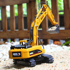 1:50 Alloy Mini Compact Excavator Digger Tractor Kid Toys Construction Vehicle