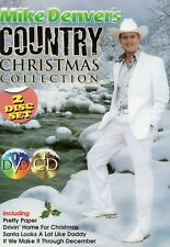 Mike Denver - Mike Denver's Country Christmas Collection CD/DVD Set