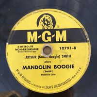"78rpm: Arthur Guitar Boogie Smith ROCKABILLY on MGM 10791 ""Mandolin Boogie"""