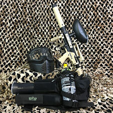 NEW Tippmann Cronus Tactical EPIC Paintball Marker Gun Package Kit - Tan/Black