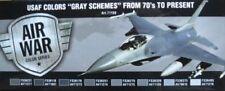Aviones militares de automodelismo y aeromodelismo color principal gris de escala 1:72