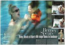 Coupure de presse Clipping 2005 (2 pages) Britney Spears