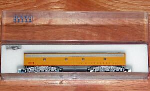KATO 176-292 N EMD E8/9-B POWERED UNIT MILWAUKEE ROAD YELLOW SCHEME # 34B