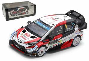 Spark S5978 Toyota Yaris WRC 3rd Monte Carlo Rally 2019 - Ott Tanak 1/43 Scale