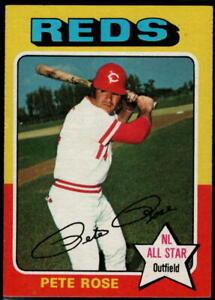 1975 Topps Baseball - Pick A Card - Cards 221-440
