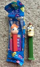 PEZ Phineas & Ferb - CANDICE MIP & DR. DOOFENSCHMIRTZ - Loose and Mint