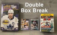 UD 20-21 Hobby Box Series 2 Box Break + Parkhurst / Giveaways RANDOM TEAMS - 006