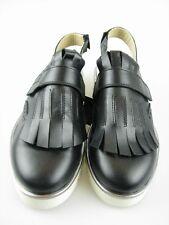 Daniel Hechter HJ7463-9 Damen Sandal ein schwarz Leder Gr.37