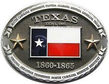 Gürtelschnalle Buckle Gürtelschliesse Flagge Texas Lone Star