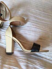 New Steve Madden Steven sandals 8.5 Beige/black