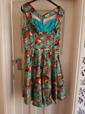 LINDY BOP - Turquoise Ophelia Dress, Size 16