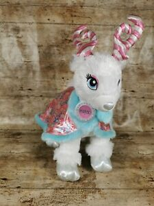 Build A Bear Reindeer Glisten Teddy Clothing 2018 Candy Cane Cape Excellent